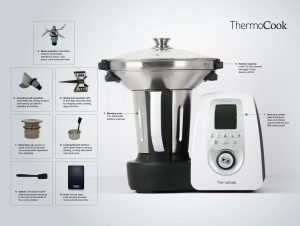 Features of the Optimum ThermoCook