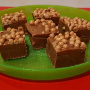 Salted caramel fudge from Tmix+ magazine