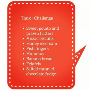 Tmix challenge recipes