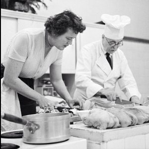 Julia Child in action