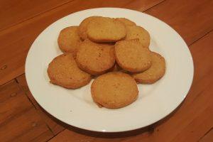 Parmesan oatcakes ready to ea